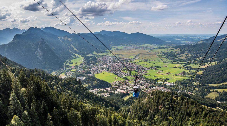 Aussicht von der Laber Bergbahn