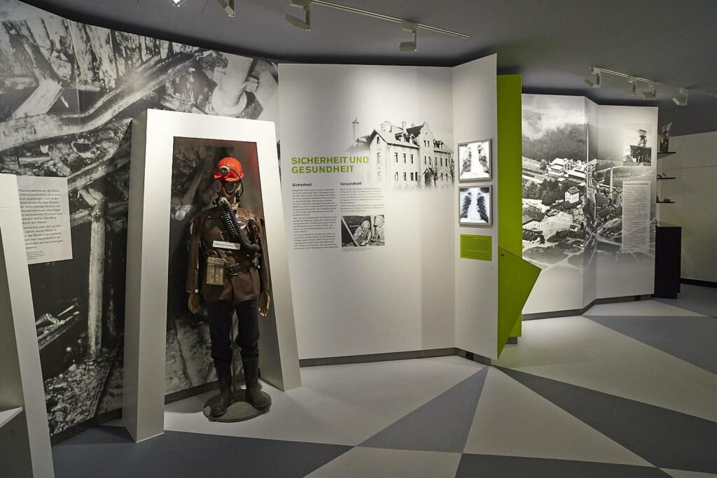 Ausstellung im Bergwerkmuseum Penzberg
