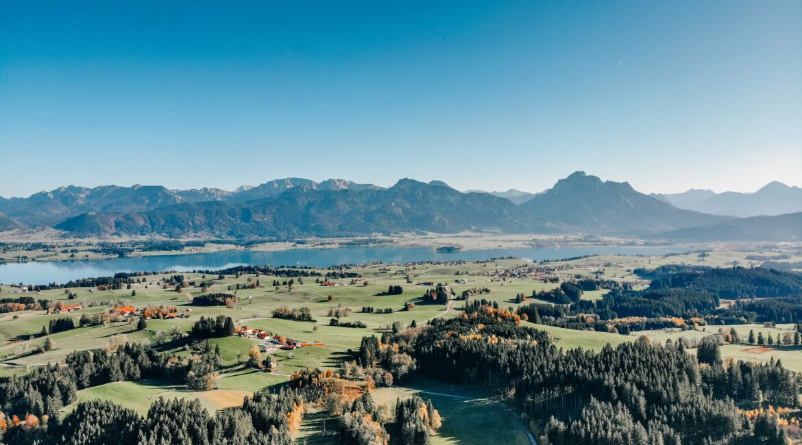 Drone Shot Forggensee