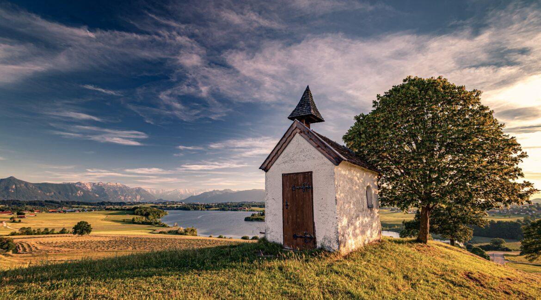 Kapelle am Riegsee bei Murnau