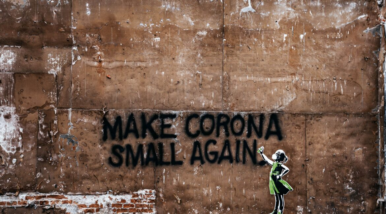 Graffiti: make corona small again
