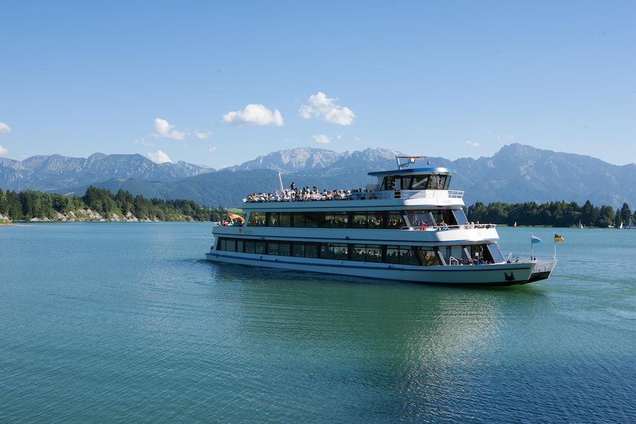 Eine Schifffahrt die ist lustig – und auf dem Forggensee auch besonders schön!